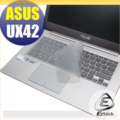 EZstick】ASUS UX42 UX42VS 系列 專用奈米銀抗菌TPU鍵盤保護膜