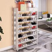 鞋櫃 多層鞋架簡易經濟型家用多功能宿舍門口防塵鞋架收納架小鞋柜組裝 igo 歐萊爾藝術館