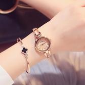 女錶 鍊條優雅鏤空女士學生簡約時尚潮流防水手鍊表 生日禮物