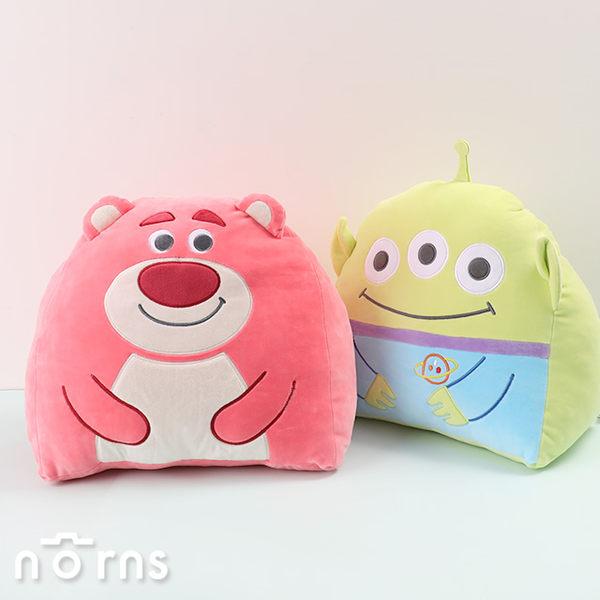【玩具總動員4三角靠墊】Norns迪士尼正版 三眼怪 熊抱哥娃娃 抬腿枕 抱枕靠枕 腰靠