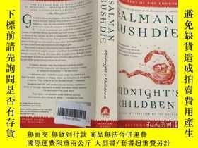 二手書博民逛書店英文原版文學小說罕見Midnight s Children:A