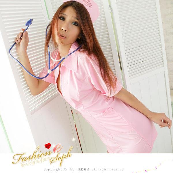 角色扮演美麗女護士服~cosplay護士裝短袖洋裝派對服尾牙表演服裝~流行E線A409