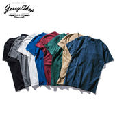 短T JerryShop【XXH0162】竹節棉淨色好搭短TEE (6色) 素色 T恤 圓領 透氣