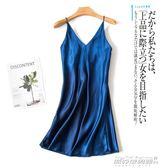 夏季性感睡裙仿真絲吊帶睡裙1968     傑克型男館