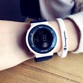 手錶 2020韓版手錶女學生潮防水青少年黑科技運動初高中夜光電子錶男