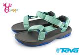 TEVA Hurricance XLT 2 童涼鞋 經典織帶涼鞋 中童 I6912#綠色◆OSOME奧森鞋業