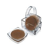 軟木塞弧形 附收納籃 杯墊 飾品擺放 造型 一組四入 餐桌 #4191【美的空間】