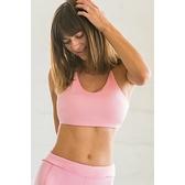 【南紡購物中心】【Flexi Lexi】Baby Pink Amber bralette 運動內衣