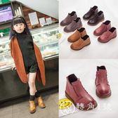 女童靴子短靴2018秋冬季新款小女孩公主單靴韓版兒童馬丁靴童鞋潮