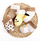 兒童襪子秋冬季加厚保暖新生兒女寶寶襪兒童棉0-1-3歲6-12個月【免運】