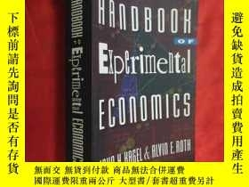 二手書博民逛書店The罕見Handbook of Experimental Economics (小16开 ) 【详见图】Y5