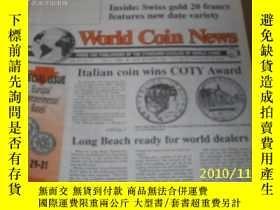 二手書博民逛書店World罕見Coin News(Vol.20,No.3)(Fe