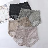高腰蕾絲內褲女無痕透氣純棉襠日系誘惑褲【聚寶屋】