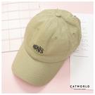 Catworld 歐妮必備文字刺繡棒球帽【18003631】‧F
