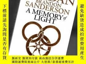 二手書博民逛書店A罕見MEMORY OF LIGHT【414】光的記憶、BOOK