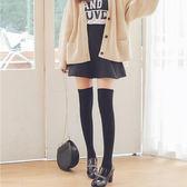 高筒襪女長襪過膝棉襪韓國學院大腿襪黑白堆堆襪JK制服襪cos舞蹈【卡米優品】