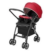 【愛吾兒】Aprica LUXUNA Cushion 四輪自動定位嬰兒車-玫瑰鑽石