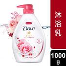 多芬玫瑰水嫩沐浴乳1000g...