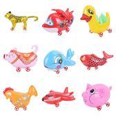 【TT】動物拉車 帶輪子充氣玩具 拉線充氣動物 充氣拉線狗兒童玩具