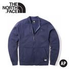 【The North Face 男 透保暖刷毛外套《海軍藍》】3VTP/休閒外套/運動夾克/棒球領