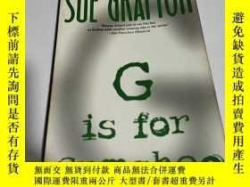 二手書博民逛書店SUE罕見GRAFTON G is for Gumshoe(英文
