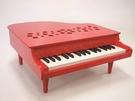 Kawai【日本代購】河合 迷你鋼琴 32鍵 日本製1163-紅色