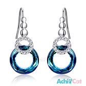 耳環 AchiCat 正白K 甜蜜佳人 施華洛世奇水晶元素 耳勾式 兩款任選
