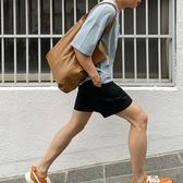 韓風簡約PU軟皮革手提單肩包 多色可選 復古刷色 百搭造型