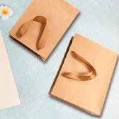(37)加厚牛皮紙袋 購物袋 紙袋 無印字 手提袋 食品袋 禮物袋 外帶 牛皮提袋【T019】生活家精品