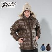 Polarstar 羽絨外套│防風│保暖│防潑水│輕量│中性外套 P11203『咖啡』