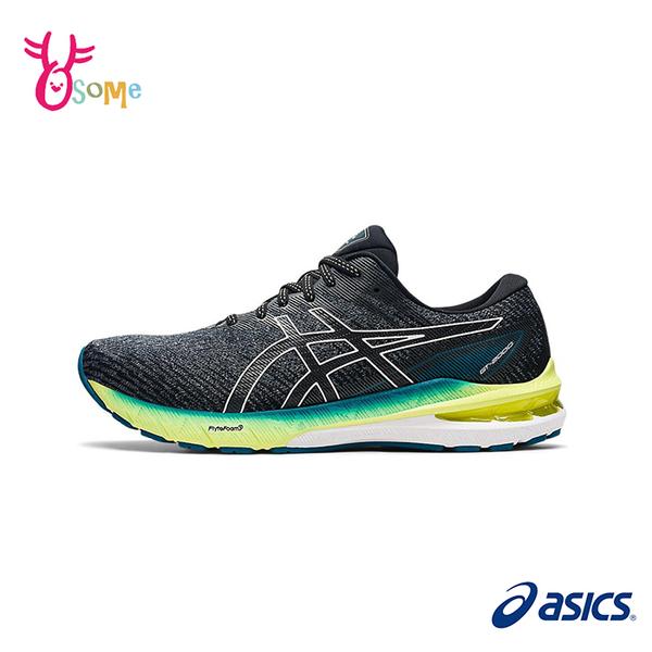 ASICS運動鞋 男鞋 GT-2000 10 多功能跑鞋 支撐跑鞋 跑步鞋 路跑 馬拉松 訓練鞋 慢跑鞋 D9110#灰綠