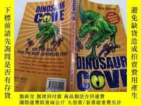 二手書博民逛書店Dinosaur罕見cove Attack Of the lizard king恐龍灣蜥蜴王的進攻Y21282