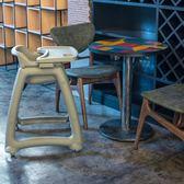 (交換禮物 創意)聖誕-塑料BB椅酒店餐廳椅肯德基麥當勞兒童餐椅寶寶吃飯椅嬰兒餐桌RM