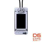 CORESUIT BADGE 證件夾+風格手機掛繩+iPhone6 Plus 5.5吋手機殼-白