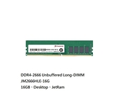 新風尚潮流 【JM2666HLE-16G】 創見 DDR4-2666 桌上型記憶體 16GB CL19 2Gx8 Transcend LONG-DIMM