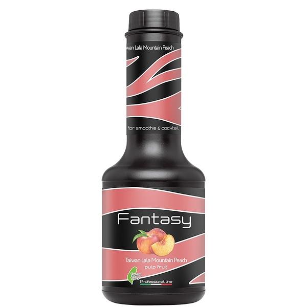 Fantasy 范特西 拉拉山水蜜桃風味 鮮果漿 果漿 果泥 台灣特色 Peach 1.2kg/瓶-【良鎂】