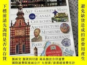 二手書博民逛書店英文原版罕見DK Eyewitness Travel Guide: Amsterdam 荷蘭阿姆斯特丹 目擊者旅遊