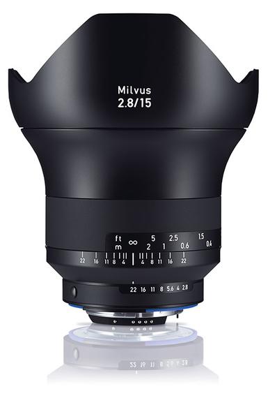 6期零利率 Zeiss 蔡司 Milvus 2.8/15 ZF.2 15mm F2.8 ZF2 鏡頭 For NIKON 石利洛公司貨