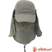 Wildland 荒野 W1031-82卡其色 中性抗UV多功能棒球帽 防曬工作帽/登山休閒帽/鴨舌帽/卡車遮陽帽*
