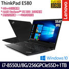 【ThinkPad】E580 20KSCTO5WW 15.6吋i7-8550U四核雙碟升級獨顯商務筆電-特仕版(一年保固)
