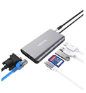 AZDOME 【日本代購】8 in 1 USB Type C 集線器4K HDMI 1000Mbps