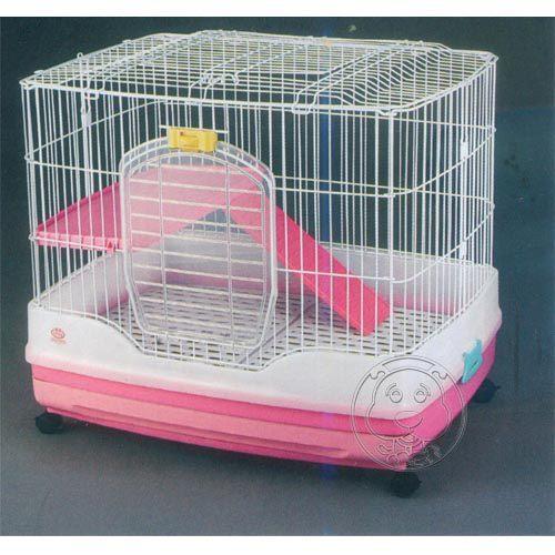 【培菓平價寵物網】瑪基洛》日式兔/貓籠‧R61(顏色隨機)