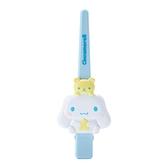 小禮堂 大耳狗 造型塑膠長髮夾 鴨嘴夾 瀏海夾 馬尾夾 大髮夾 (藍 玩偶) 4550337-34895