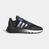 Adidas Nite Jogger [EF5403] 男鞋 運動 休閒 避震 復古 厚底 穿搭 經典 愛迪達 黑 銀