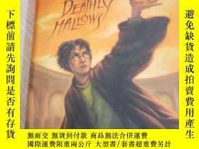 二手書博民逛書店Harry罕見Potter and the Deathly Hallows (英文原版 精装)Y23265 J