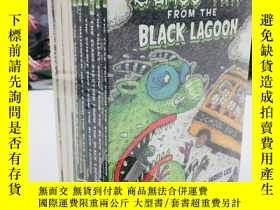 二手書博民逛書店Black罕見Lagoon Adventures 1-12Y19139 Mike Thaler scholas