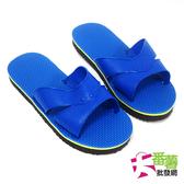 室內拖鞋(藍色黑底)12雙入/拖鞋 [27C2] - 大番薯批發網