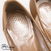 鞋材.QQ果凍透明疏壓鞋墊-FM時尚美鞋