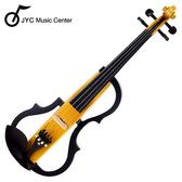 ★JYC Music★JYC SV-150S靜音提琴(黃色)~雙輸出/三段EQ