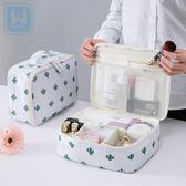 旅行化妝包小號便攜韓國簡約大容量化妝品收納包少女心手提洗漱包 金曼麗莎